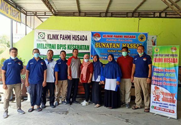 Alhamdulillaah Sunat Masal Bulan ini Sukses Dan Lancar di Klinik Fahmi Husada Madiun